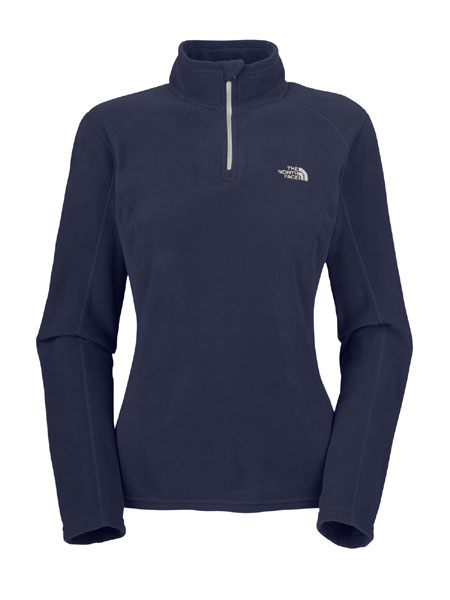 The North Face TKA 100 Microvelour Glacier 1/4 Zip Women's (Mont