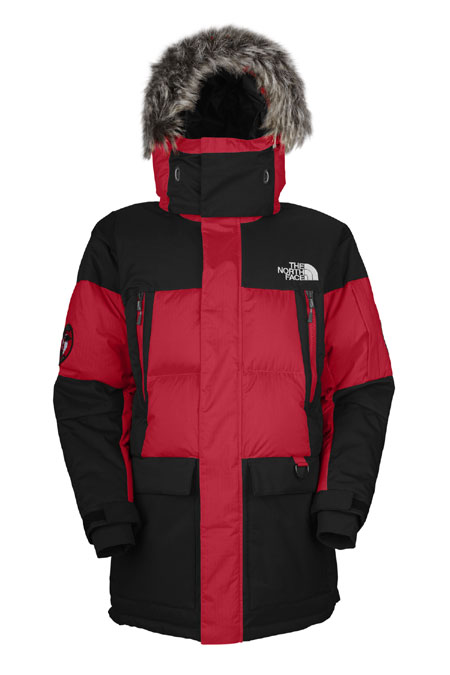 The North Face Vostok Parka Men's (TNF Red / TNF Black)