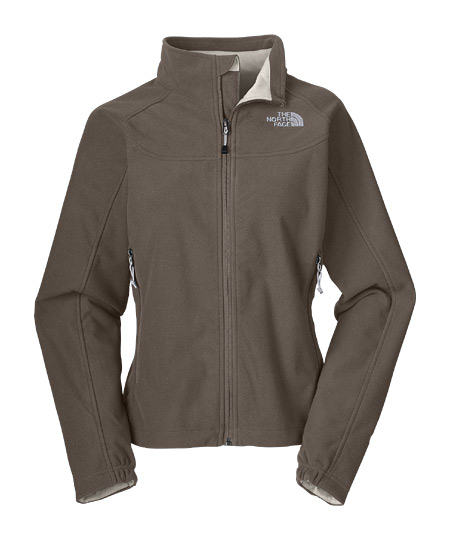 The North Face WindWall 1 Jacket Women's (Weimaraner Brown)
