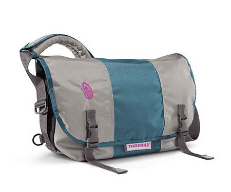 Timbuk2 Classic Messenger Bag (Cement / Bay Blue / Cement)