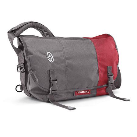 Timbuk2 Classic Messenger Bag (Gunmetal/Gunmetal/Rev Red)