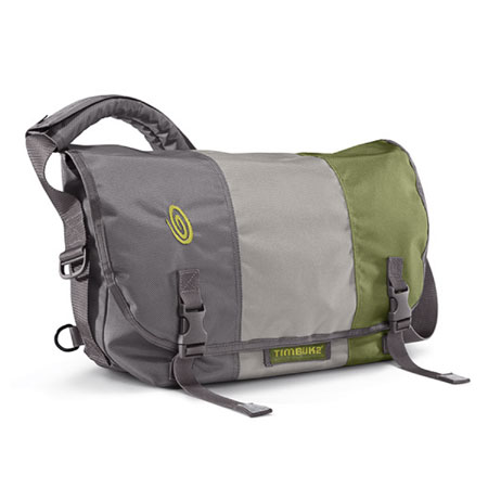 Timbuk2 Classic Messenger Bag (Gunmetal / Cement / Algae Green)