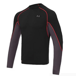 Under Armour Basemap Crew Men's (Black / Charcoal / Red)