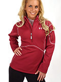 Under Armour ColdGear Armourstretch Pullover Women's (Brick Red)