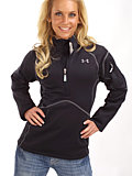 Under Armour ColdGear Armourstretch Pullover Women's (Black)