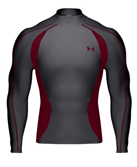 Under armour coldgear chase mock men 39 s at for Under armour cold gear shirt mens