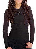 Under Armour Longsleeve Frequency Tee Women's (Black)