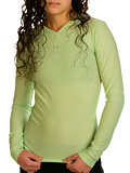 Under Armour Longsleeve Frequency Tee Women's (Seagrass)