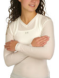 Under Armour Longsleeve Frequency Tee Women's (White)