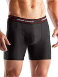 Under Armour O-Series Boxer Jock 6 Inch Short (Black)