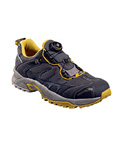 Vasque Aether Tech Trail Running Shoe Men's (Dark Gull Gray / Nugget Gold)