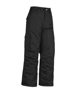 White Sierra Bilko Snow Pant Boys' (Black)