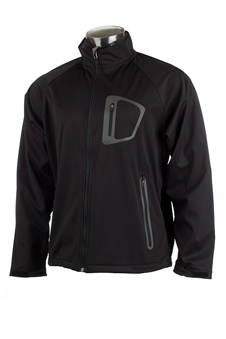 White Sierra Blaster Lightweight Soft Shell Jacket Men's (Black)