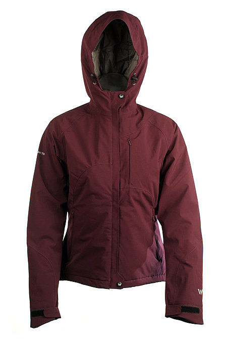 White Sierra Grace Jacket Women's (Date Plum)