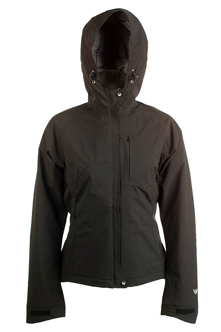 White Sierra Grace Jacket Women's (Black)