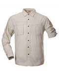 White Sierra Insect Shield Swamp Shirt Men's