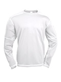 White Sierra Insect Shield Long Sleeve Crew Men's