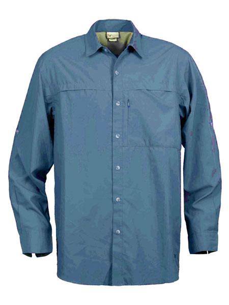 White Sierra Kalgoorlie Long Sleeve Shirt Men's (Riviera)