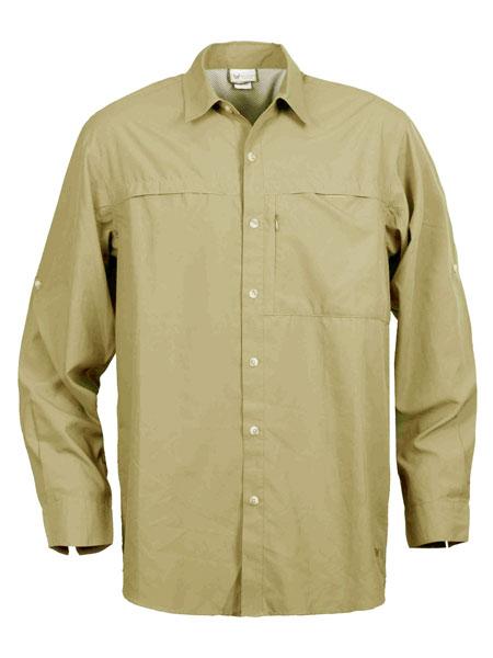 White Sierra Kalgoorlie Long Sleeve Shirt Men's (Stone)