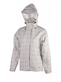 White Sierra Trabagon Plaid Printed Rain Jacket Women's (White Plaid)