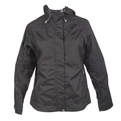 White Sierra Trabagon Rain Jacket Women's (Black)