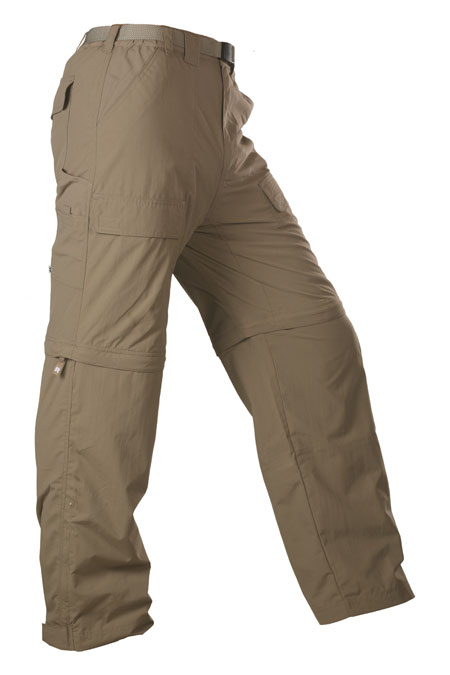White Sierra Trail Convertible Pant Men's (Bark)